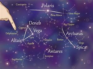 Summer Constellations Northern Hemisphere Star Chart How To Find Your Way Around The Summer Night Sky 10 Steps