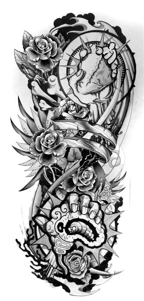 Half sleeve tattoo sketch   Half sleeve tattoos designs, Tattoo sleeve designs, Half sleeve