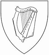 Harp Drawing Coloring Celtic Pages Zither Instruments Musical Types Ireland Mistholme Results Getdrawings Symbol Period sketch template