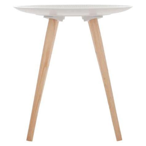 Table D Appoint Scandinave Table D Appoint Scandinave Quot Mileo Quot 49cm Blanc