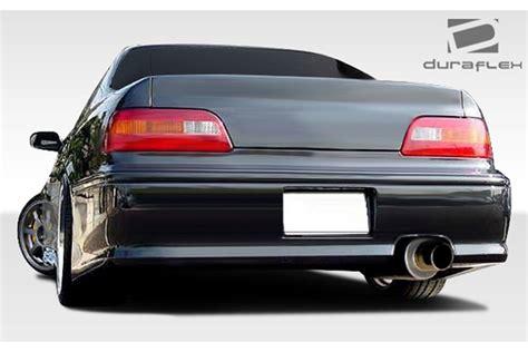 acura legend vip duraflex acura legend 1991 2008 vip rear bumper