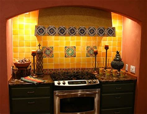 talavera tile kitchen talavera tile backsplash and granite countertop home 2653