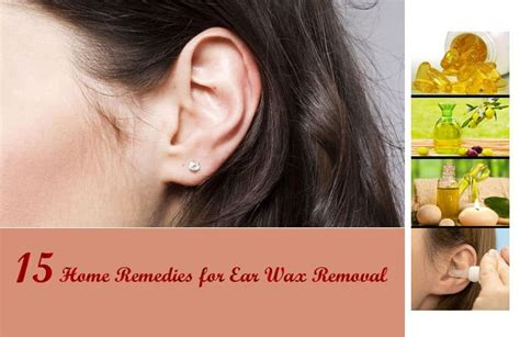 15 Home Remedies For Ear Wax Removal That Really Work