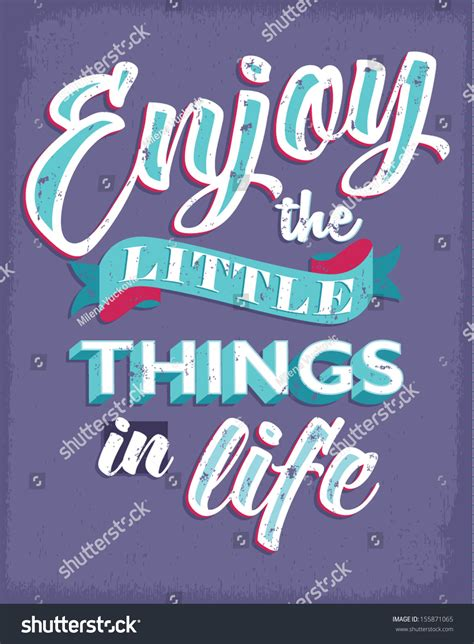 inspirational quotes retro style life concept stock vector