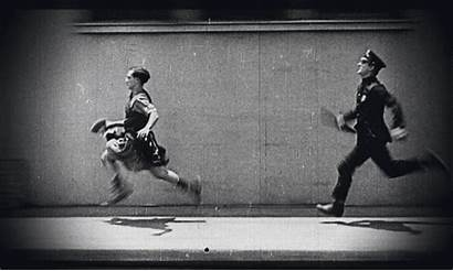 Buster Keaton Gifs Movie Police Fuite Funny