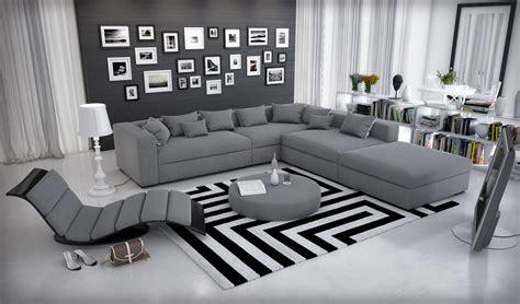 canapé d angle moderne canapé d 39 angle cuir modulable design et moderne bolonia