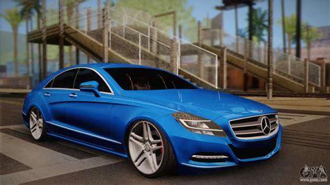 Mercedes-benz Cls63 Amg For Gta San Andreas