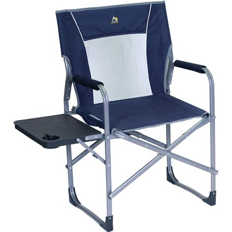 gci outdoor slim fold director s chair midnight blue 36514 b h