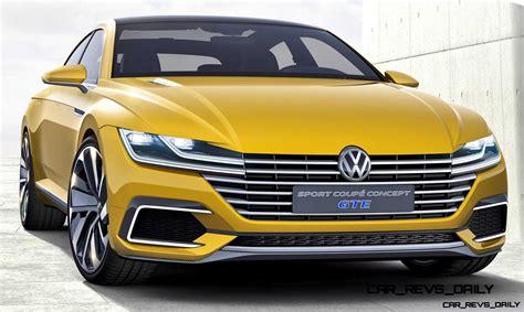 Volkswagen Sports : 2015 Volkswagen Sport Coupe Concept Gte