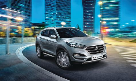 Hyundai Tucson Backgrounds by 2017 Hyundai Tucson On Road In Background Lights