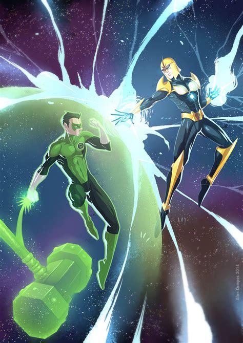 vs green lantern green lantern vs by alanscos on deviantart
