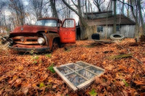 Abandoned Cars From Over The World