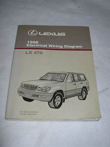 1998 Lexus Lx470 Lx 470 Electrical Wiring Service Manual
