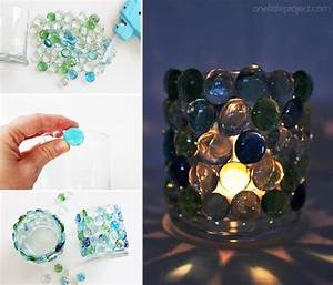 Glass, Bead, Candle, Holders