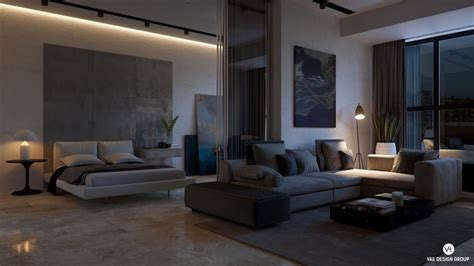 small studio apartments  exude luxurious space