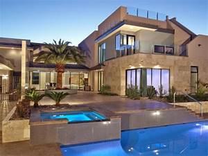 Moderne Häuser Mit Pool : moderne hauser mit pool ~ Markanthonyermac.com Haus und Dekorationen