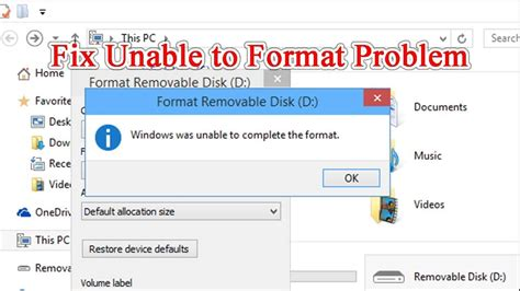 I have a 32 gb micro sd card that got corrupted all of sudden. Fix Windows was Unable to Complete Format SD Card - YouTube