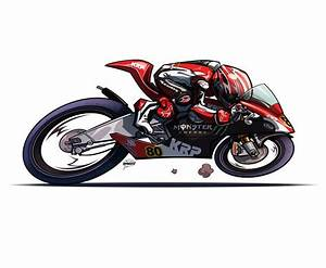 Motorcycle Drawings by Rich Lee Draws!!! - Asphalt & Rubber