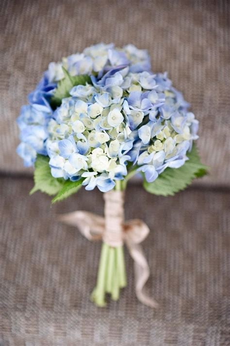 classic hydrangea wedding bouquets flowers