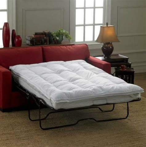 Size Sofa Bed Mattress by Sleeper Sofa Bed Mattress Topper 3 Sizes Cot