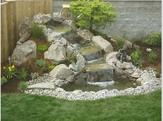 Waterfall Landscaping Design LANDSCAPING AND GARDENING
