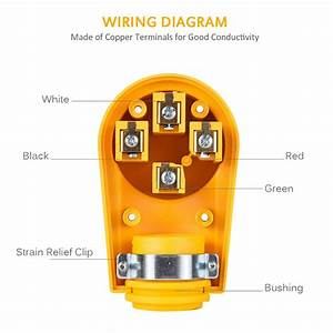 50 Amp Rv Plug Wiring Diagram 4 Prong