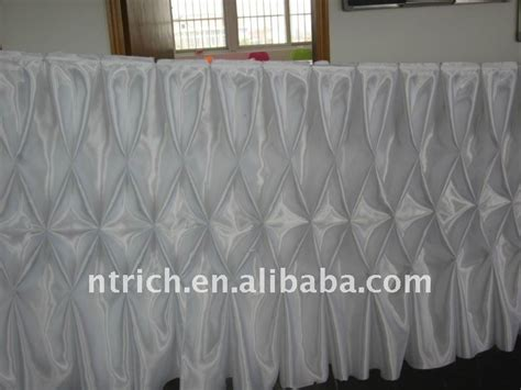 table cloth skirting design fascinating gathered table skirts white colour satin