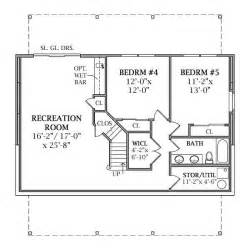 house plans with walk out basements walk out basement home plans house design
