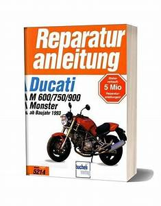 Ducati Monster 600 750 900 1993 Service Manual German