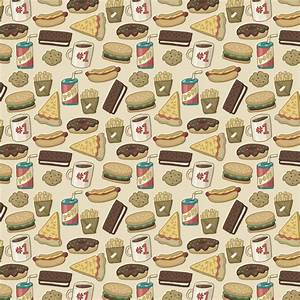 Food Pattern Wallpaper Tumblr | Pattern: Junk Food by Cup ...