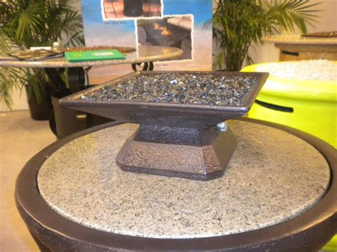 tabletop gas pit c 225 pri square table top gas outdoor pit