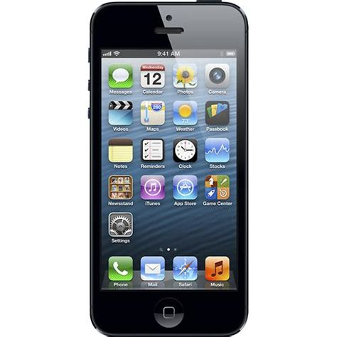 cricket wireless iphone 5 apple iphone 5 16gb for cricket wireless in black