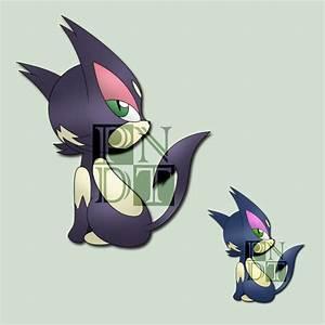Pokemon PURRLOIN by psychonyxdorotheos on DeviantArt