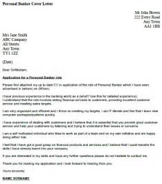 Personal Banker Cover Letter Example Icover Org Uk