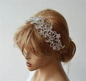 Wedding Hair Accessories Silver Butterflies Headpiece