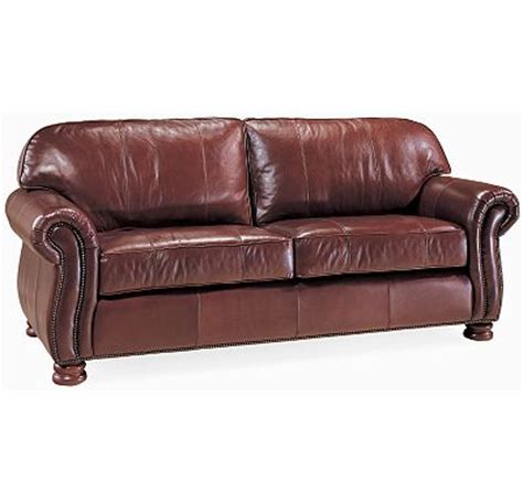 thomasville leather sofa benjamin leather thomasville benjamin sofa charleston