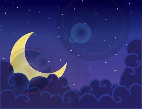 fondo de pantalla de noche estrellas nubes cielo