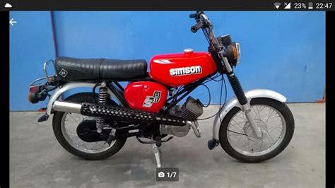 Ist Das Wirklich Eine Simson S51 Enduro Technik
