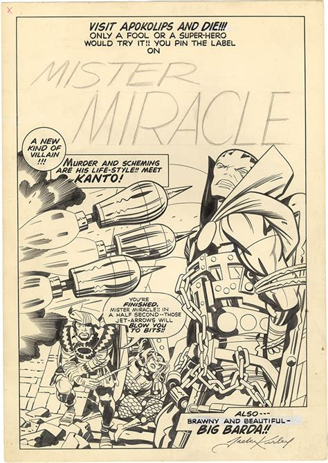 Gallery of Jack Kirby comic art, high res with art zoom ...