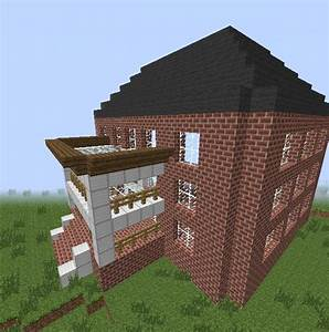 Red Brick Mansion Minecraft Project