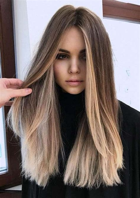 Sensational Combination of Long Hairstyles and Colors in ...