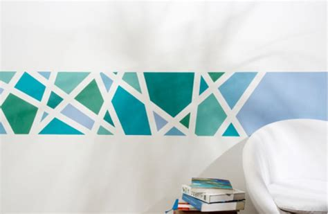 x wand streichen ideen muster streifen und struktureffekte on plus lila farbgestaltung
