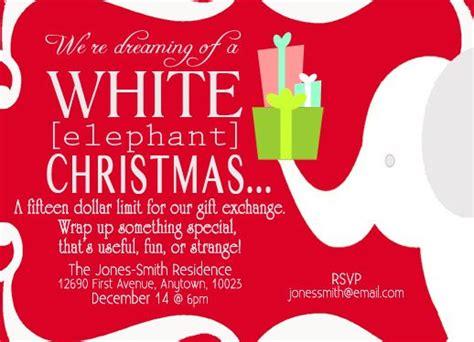loves  white elephant gift exchange holiday