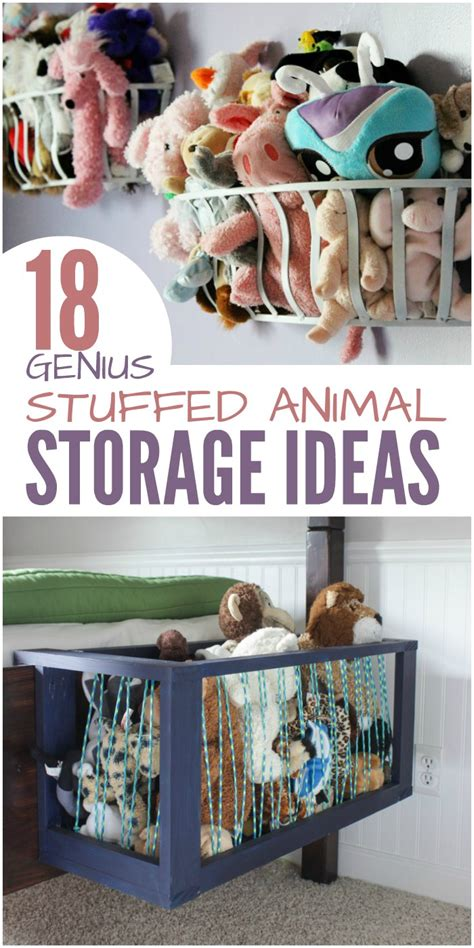 18 Genius Stuffed Animal Storage Ideas