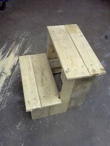 Build A Wood Step Stool - WoodWorking Projects & Plans