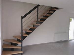 Escalier Bois Quart Tournant : escalier bois 1 quart tournant ~ Farleysfitness.com Idées de Décoration