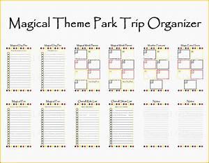 10 Day Trip Planner Template - Sampletemplatess