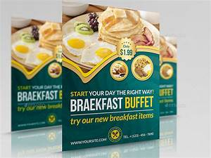 Free Flyer Maker Printable Breakfast Restaurant Flyer Template By Owpictures