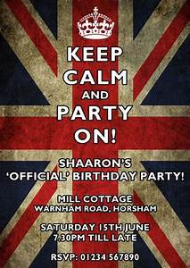 Invitations For Parties A Traditional British Celebration