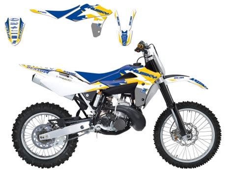 kit deco 125 sx 2006 kit deco graphic 3 jaune husqvarna 125 cr wr 2006 2008 crossmoto fr 09 09 2017